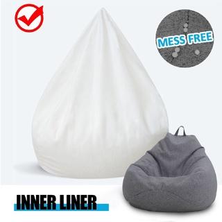 S M L Lót bên trong cho túi đậu Bao ghế lớn dễ dàng vệ sinh Ghế sofa thuận tiện thumbnail