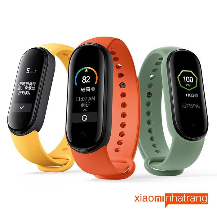 Vòng tay theo dõi sức khoẻ Xiaomi Mi Band 5 / Đồng hồ thông minh Miband 5