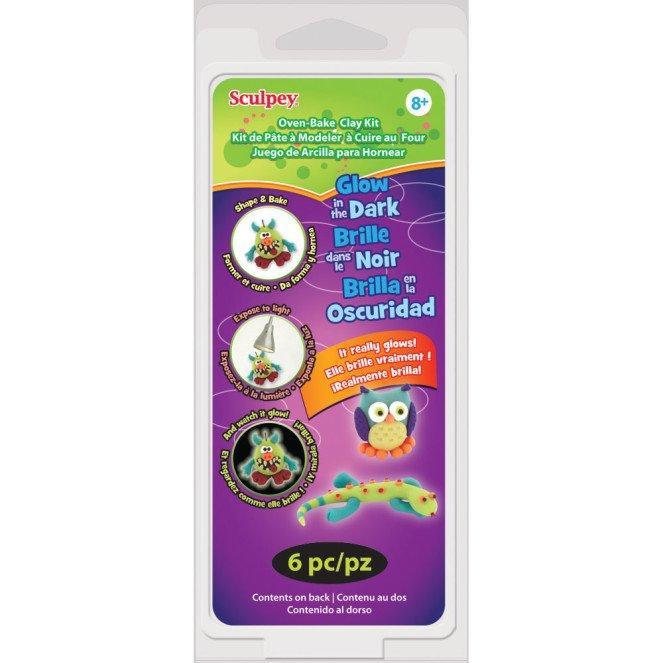 Bộ kit đất sét Sculpey phát sáng trong bóng tối- Món quà tuyệt vời cho trẻ thích sáng tạo - 14575975 , 2259507100 , 322_2259507100 , 360000 , Bo-kit-dat-set-Sculpey-phat-sang-trong-bong-toi-Mon-qua-tuyet-voi-cho-tre-thich-sang-tao-322_2259507100 , shopee.vn , Bộ kit đất sét Sculpey phát sáng trong bóng tối- Món quà tuyệt vời cho trẻ thích s