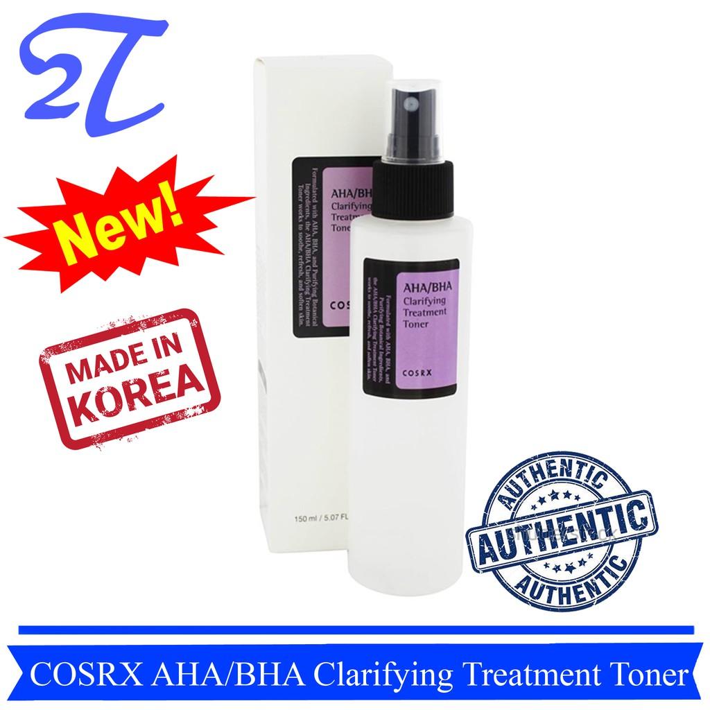 [Auth] Nước Hoa Hồng COSRX AHA/BHA Clarifying Treatment Toner 150ml