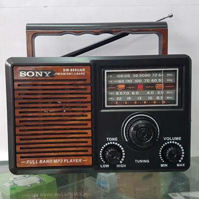 Đài radio Sony SW-888 và 999 BH 6 tháng đổi mới