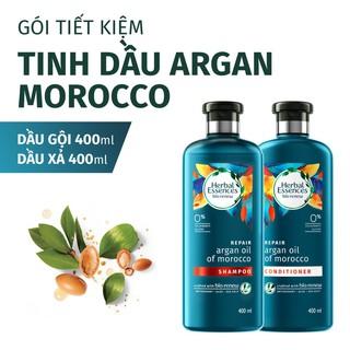 Bộ Gội Xả Herbal Essences Tinh Dầu Argan Morocco 400ml chai