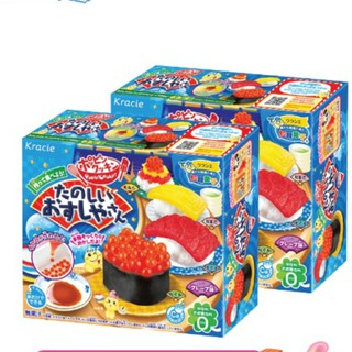 Combo 2 hộp kẹo đồ chơi Popin cookin Sushi – Bộ làm Sushi