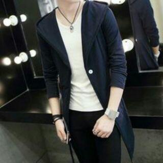 Áo khoác nam măng tô áo khoác nam thời trang Hàn Quốc