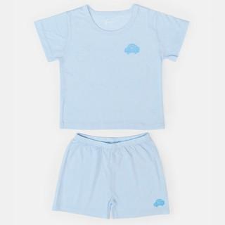 [Mã KIDMALL15 hoàn 15% xu đơn 150K] Bộ quần áo thun ngắn tay Rabity 0065 (bé trai bé gái)