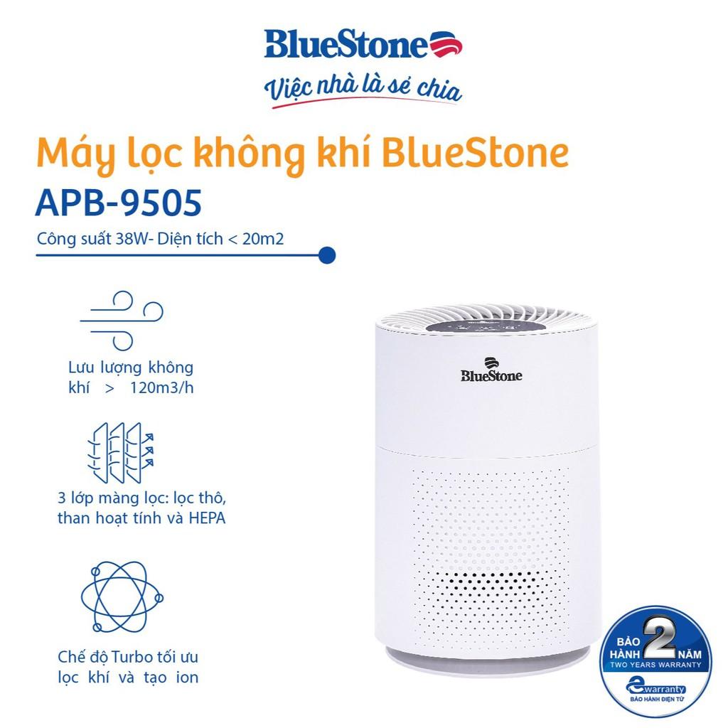 [Mã ELMALL11 giảm 6% đơn 500K] Máy Lọc Không Khí BlueStone APB-9505- Công suất 38W- Diện Tích Lọc Đến 20m2