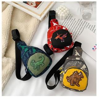 Túi đeo chéo khủng long thời trang TTB006 cho bé trai, bé gái