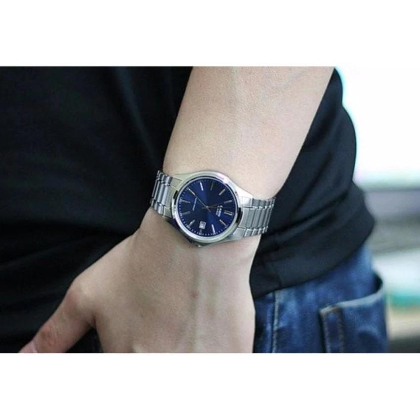 Đồng hồ nam dây kim loại Casio chính hãng Anh Khuê MTP-1183A-2ADF