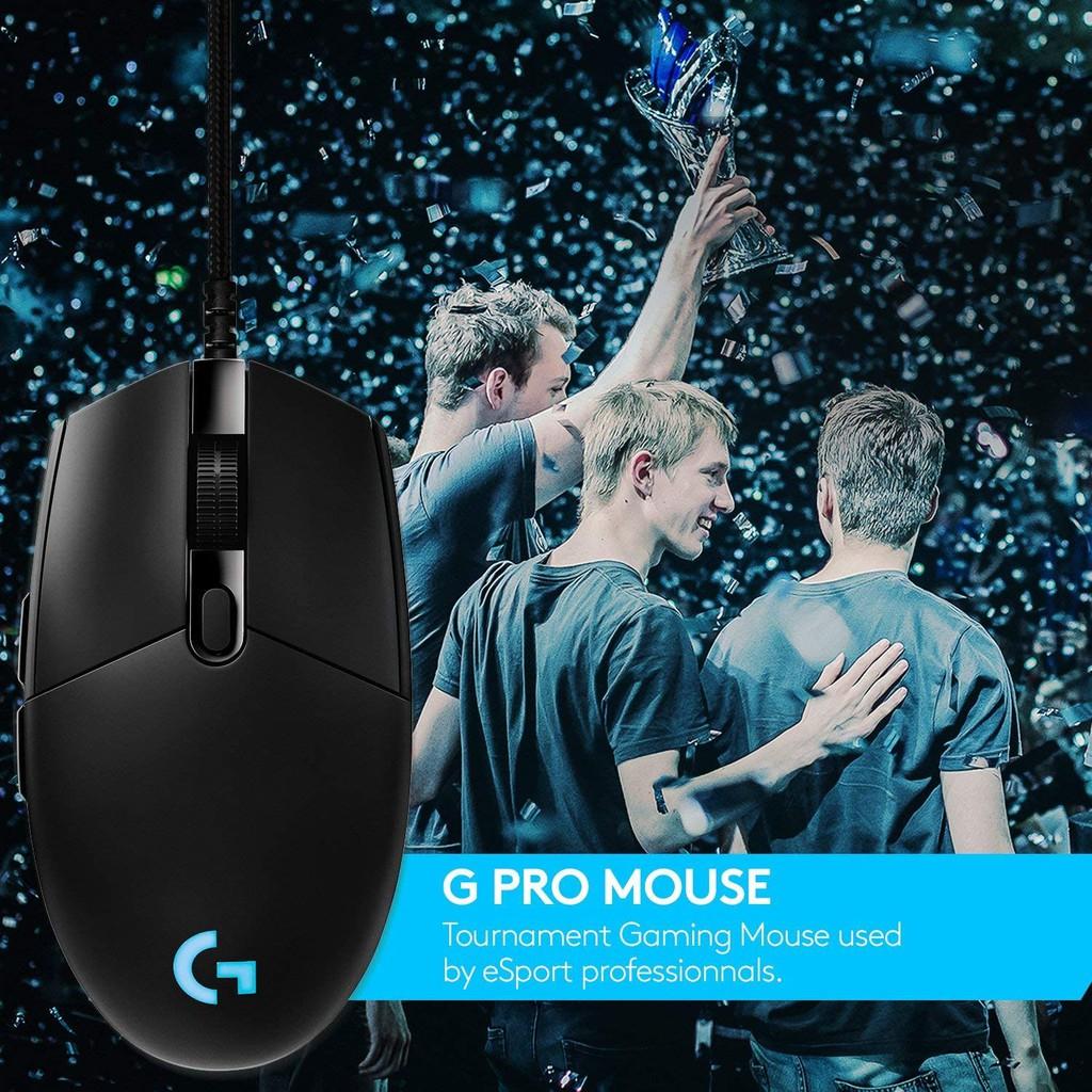 [Mã 267ELSALE hoàn 7% đơn 300K] Chuột Gaming Logitech G Pro Hero Lightsync 16000 DPI