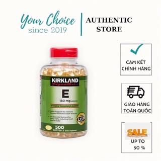 Viên Uống Vitamin E Mỹ thumbnail
