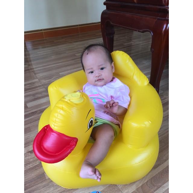 [Free ship 99k giao tại HN + HCM]Ghế hơi tập ngồi cho bé tặng 1 xúc sắc trống cho bé yêu