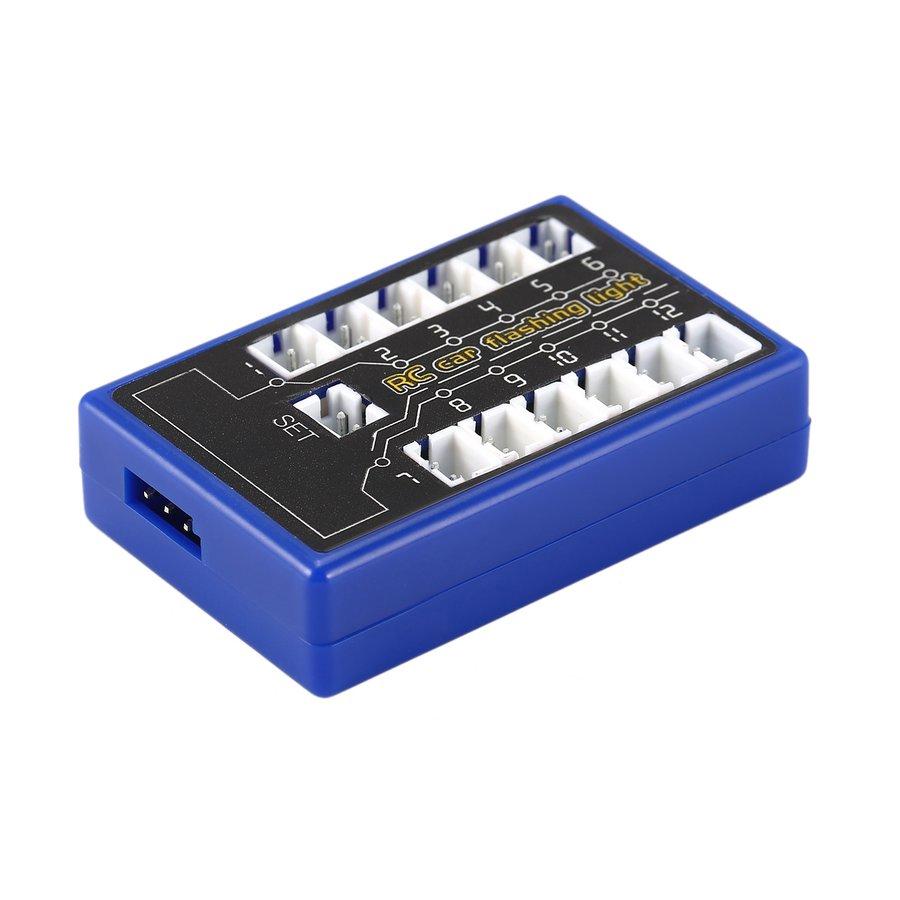 Đèn LED 12 bóng cho xe hơi điều khiển từ xa HSP CC01 SCX10 1 / 10 1 / 8