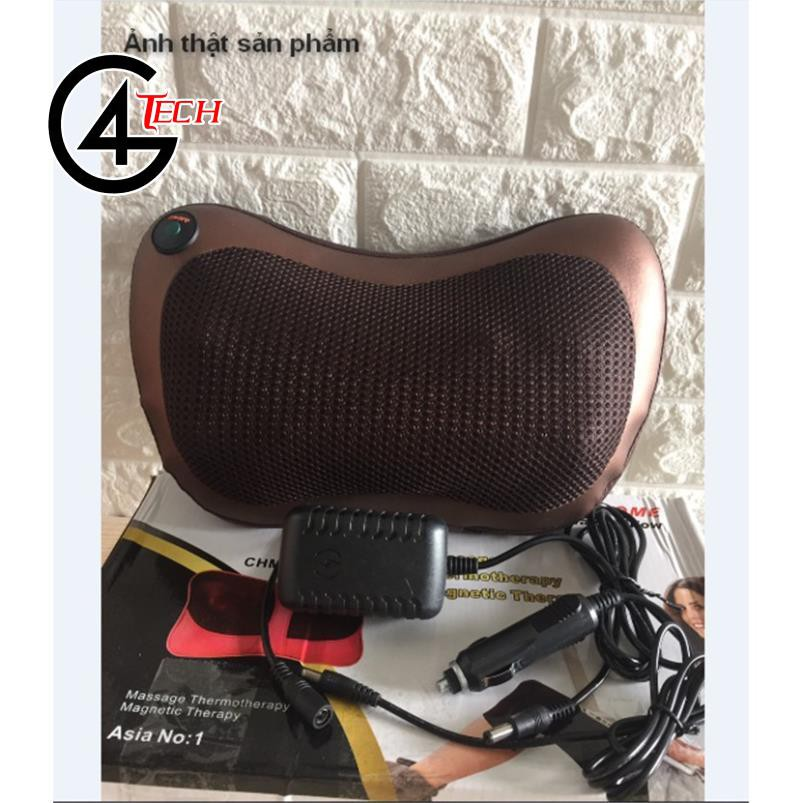 Gối masage Hồng Ngoại 8 Bi Magic Pillow -8028