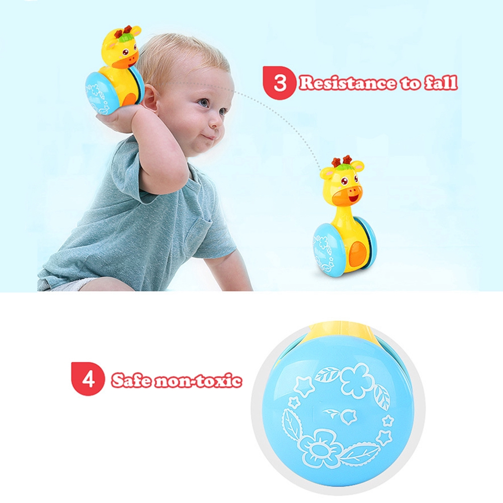 Tumbler Doll Baby Toys Sweet ringing music Learning Education Toy Gifts Baby Bell Baby Toys