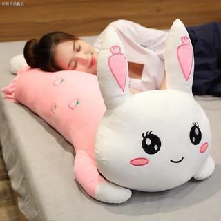 Thỏ Nhồi Bông Nằm Ngủ Dễ Thương