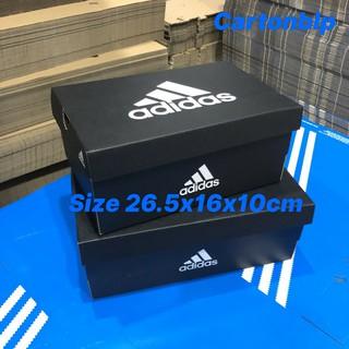 Hộp đựng giày adidass size 26.5x16x10cm ĐEN