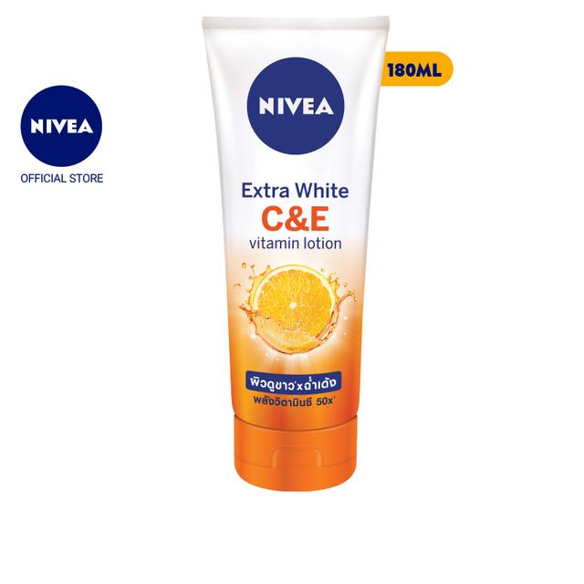 Sữa dưỡng thể dưỡng trắng Nivea Extra White C&E Vitamin Lotion 180ml