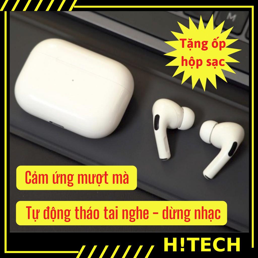 Airpod Pro 3 [ Hitech.vn ] Tai nghe bluetooth không dây với chức năng định vị đổi tên có mic