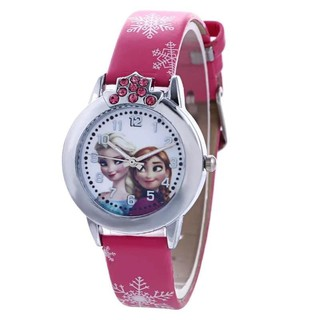 Đồng hồ đeo tay Elsa cho bé gái thumbnail