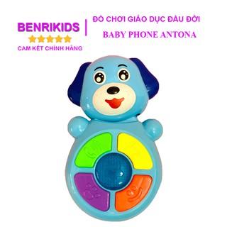 [Mã TOY1012 hoàn 10% xu đơn 99k] Đồ Chơi Điện Thoại Cầm Tay Baby Phone Biết Hát Antona Cho Trẻ Em Từ 6 Tháng Tuổi thumbnail