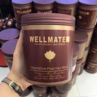 Best Seller Kem ủ tóc siêu mượt Wellmate Vegetative Peat Hair Mask 500ml - 1000ml thumbnail