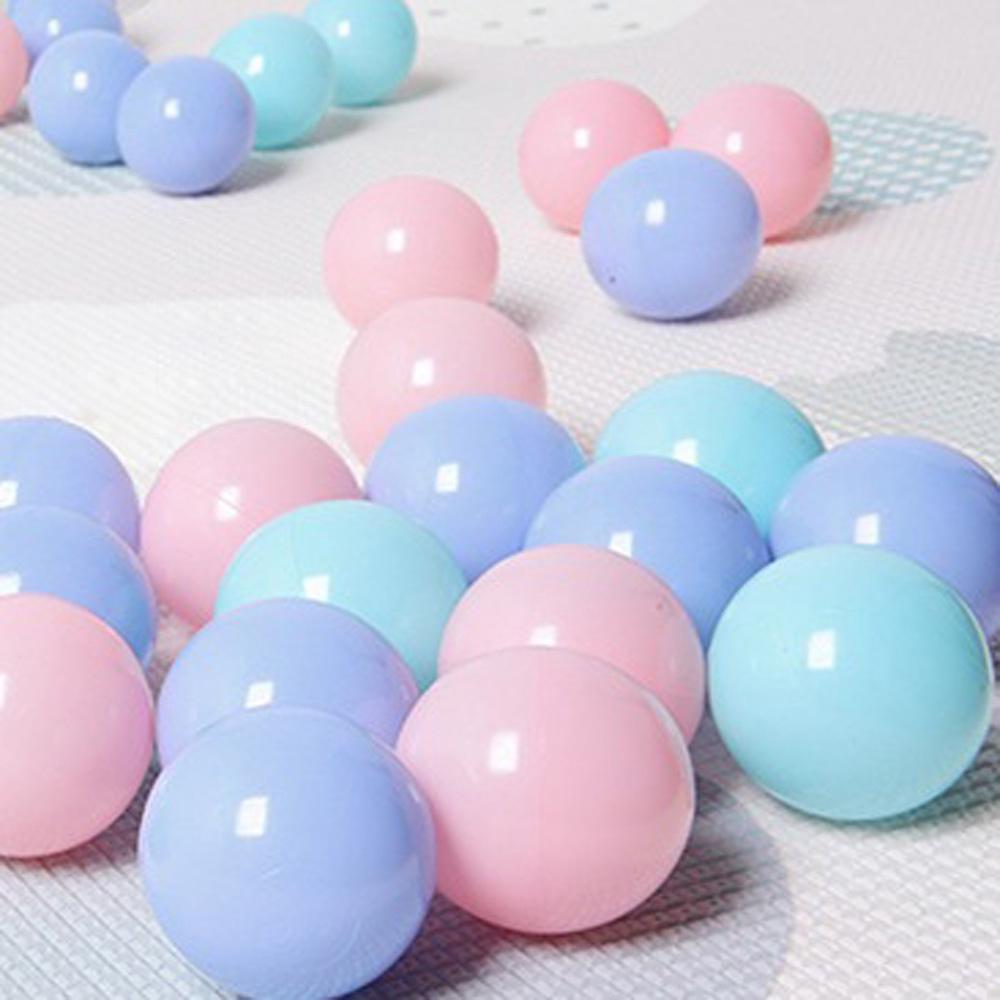 100pcs/Set Mixed Colors Ball Soft Plastic Ocean Ball Kid Swim Pit Toy