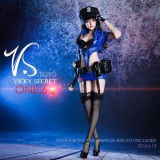 [Order] Trang Phục Mô Hình VSTOYS 1/6 – 18XG16 COS policewoman uniform suit