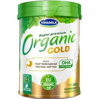 Sữa Bột Vinamilk Organic Gold 4 – Hộp 850g