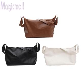 Túi xách da màu trơn thiết kế xếp ly thời trang cho nữ