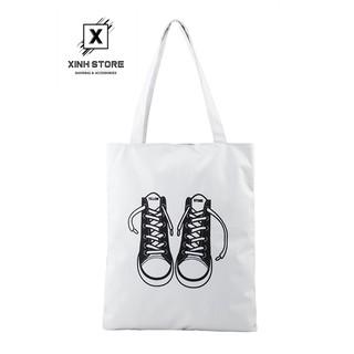 Túi Vải Đeo Vai Tote Bag Đôi Giày XinhStore