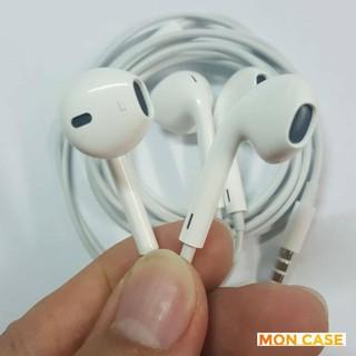 Tai nghe cổng 3.5mm cho điện thoại màu trắng