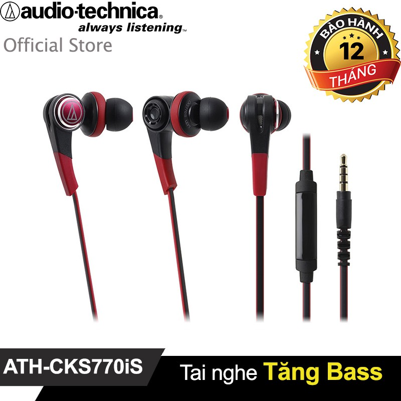 Tai nghe Audio-technica tăng Bass ATH-CKS770iS