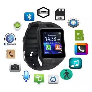 Đồng hồ thông minh lắp sim DZ09 - đồng hồ thể thao nam nữ thumbnail