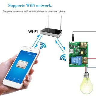 eWeLink USB DC5V AC85-250V 30A Wifi Switch Wireless Relay