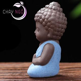 Bộ 4 tượng Phật chấp tay 2