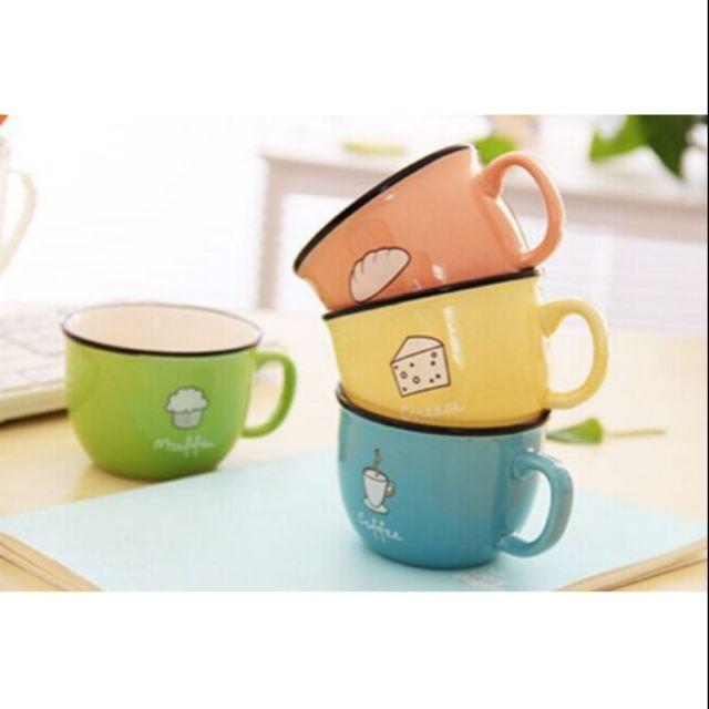 Cốc sứ uống trà cà phê 220ml
