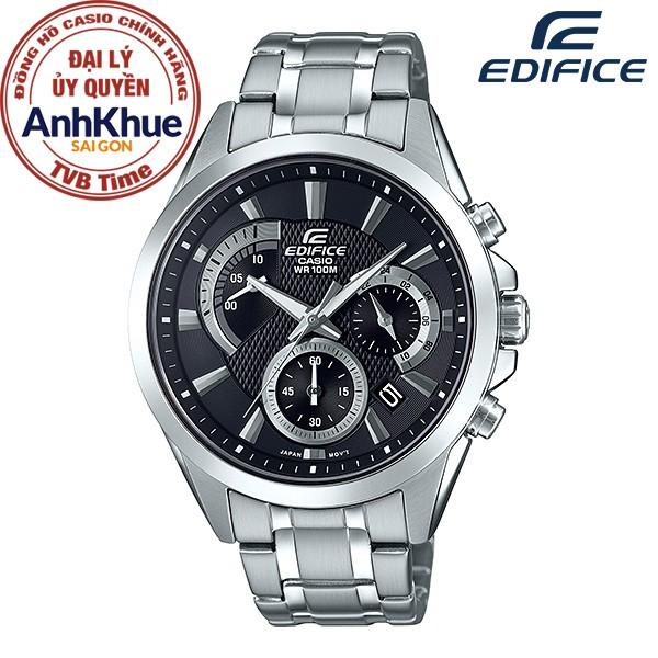 Đồng hồ nam dây kim loại Casio Edifice chính hãng Anh Khuê EFV-580D-1AVUDF