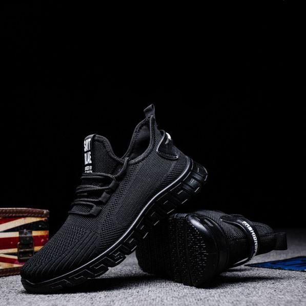 Giày nam thoáng khí đế cao su G8969