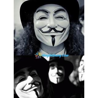 SALE — Mặt nạ Hacker Anonymous mã số SP NM3590 Zmã EI