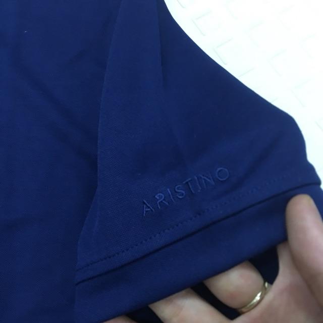 Áo thun nam cao cấp áo thun xịn áo polo cổ bẻ ARISTINO form rộng -đủ size- Aps051s9