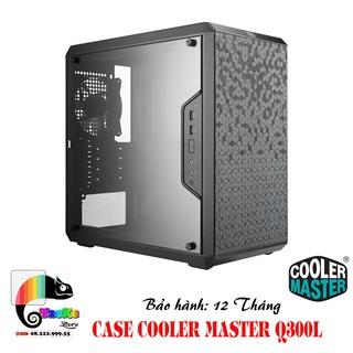 Vỏ Case máy tính Cooler Master MasterBox Q300L Mini Tower-