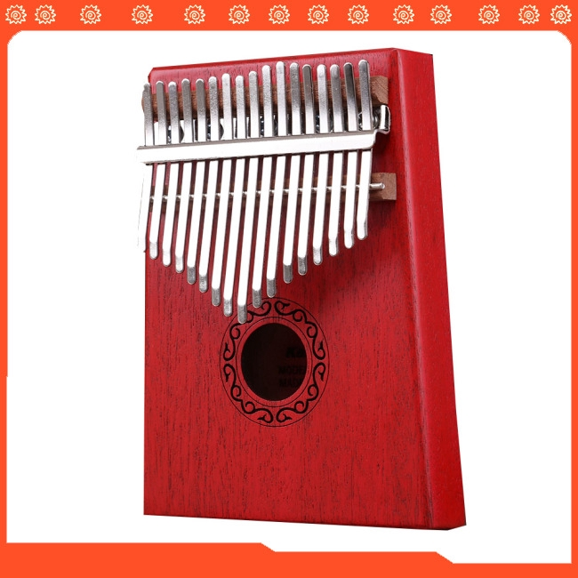 17 Key Kalimba Thumb Piano Kids Adults Body Music Finger Percussion Keyboard