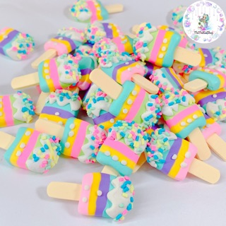 Charm slime / kẹo cốm 4 màu