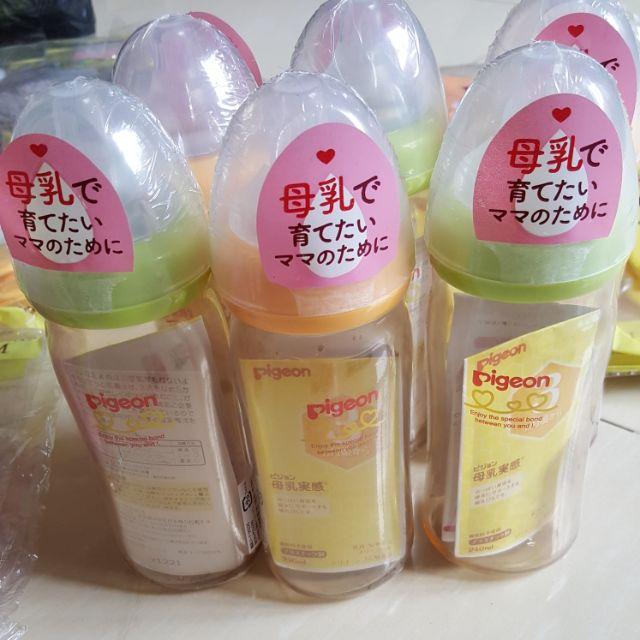 Bình sữa Pigeon nội địa Nhật 240ml cho bé, bình sữa nội địa, Pigeon nội địa nhật - 2845083 , 466329504 , 322_466329504 , 290000 , Binh-sua-Pigeon-noi-dia-Nhat-240ml-cho-be-binh-sua-noi-dia-Pigeon-noi-dia-nhat-322_466329504 , shopee.vn , Bình sữa Pigeon nội địa Nhật 240ml cho bé, bình sữa nội địa, Pigeon nội địa nhật