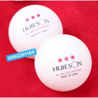 Quả bóng bàn luyện tập thi đấu Huieson 3 sao 40+ 100 quả
