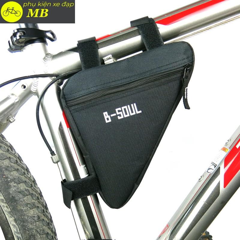 túi treo khung xe đạp-túi tam giác BSOUL siêu rẻ nhiều màu TUI03