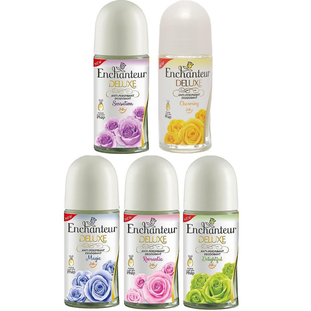 Lăn Khử Mùi Dưỡng Trắng dạng nước Enchanteur 50ml 100% chính hãng, tat cung cấp và bảo trợ.