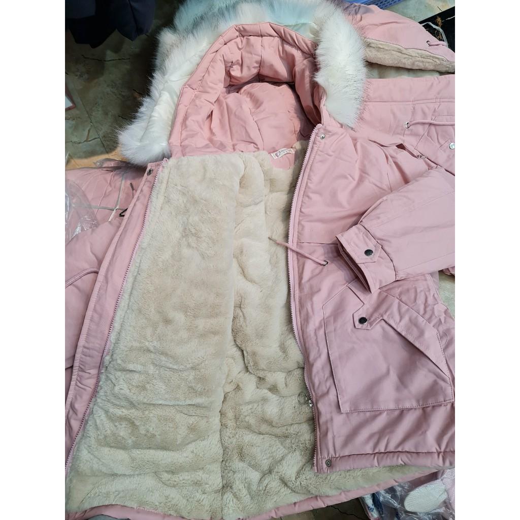 Áo khoác parka sz đại bé gái 32-50kg