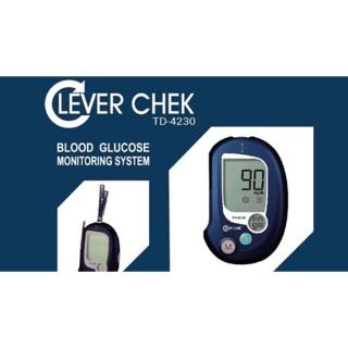 Que thử đường huyết clever check ( hộp 25 que ) thumbnail