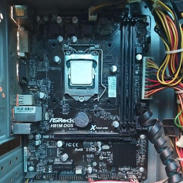 Main Asrock H81M-DGS rev2.01 + Fe Giá chỉ 320.000₫